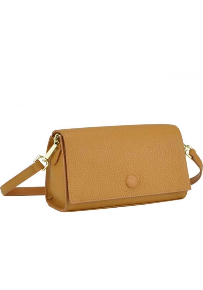 Фото Кожаная женская сумка Riche W14-7727LB