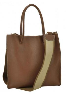 Фото Сумка в сумке женская кожаная Riche W09-6204C Brown