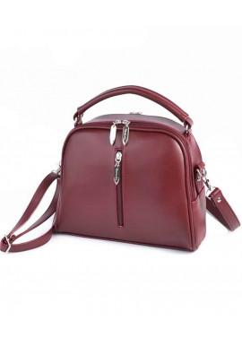 Фото Женская сумочка Камелия М234-75 бордовая