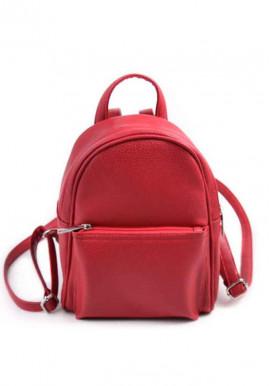 Фото Женский рюкзак М124-68 Камелия красный
