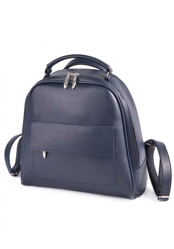 Фото Женский рюкзак-сумка Камелия М231-62 синяя