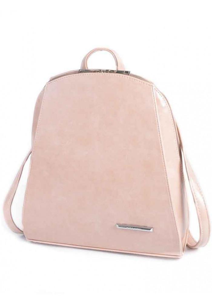 Фото Женский рюкзак с жестким каркасом Камелия М220-44 пудра