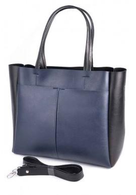 Фото Женская сумка Камелия М223-63-62 сине-черная