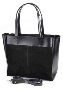 Фото Женская сумка Камелия М223-34 с замшей