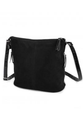 Фото Женская сумка через плечо Камелия М78-33-замшевая