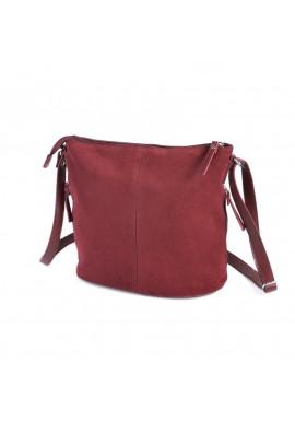 Фото Женская сумка через плечо из замши Камелия М78-75
