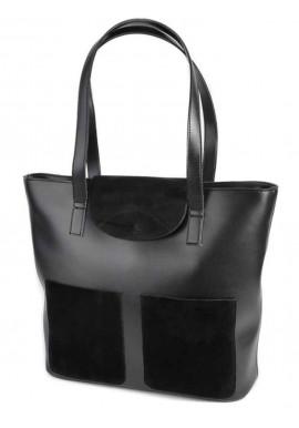 Фото Женская сумка Камелия М225-34 замшевая