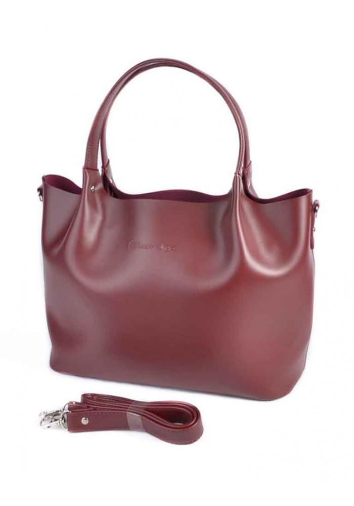 Фото Женская сумка М193-70 Камелия бордовая