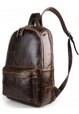 Фото Кожаный мужской рюкзак Tiding Bag 7273Q