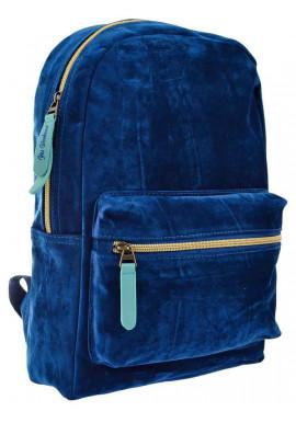 Фото Женский рюкзак из велюра YES YW-21 Velour Marble Tuna 556898