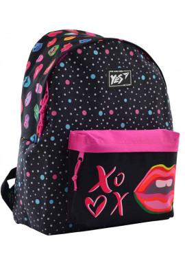 Фото Рюкзак для девушки YES ST-17 Pink Kiss 556617