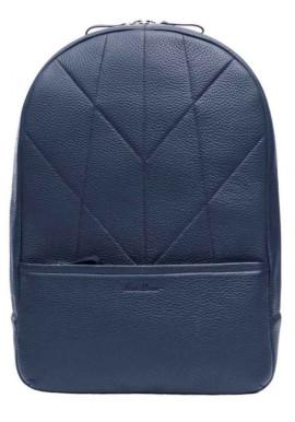 Фото Мужской кожаный рюкзак Issa Hara BP7 Blue