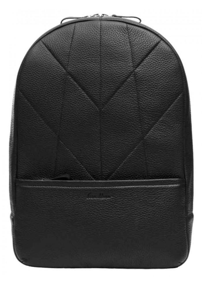 Фото Мужской кожаный рюкзак Issa Hara BP7 Black