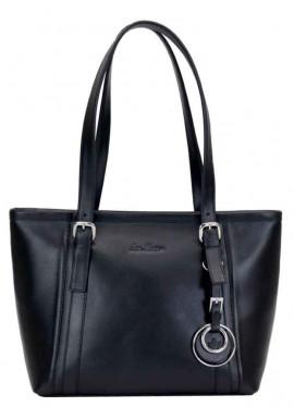Фото Женская кожаная сумка Issa Hara Ирена 05 Black