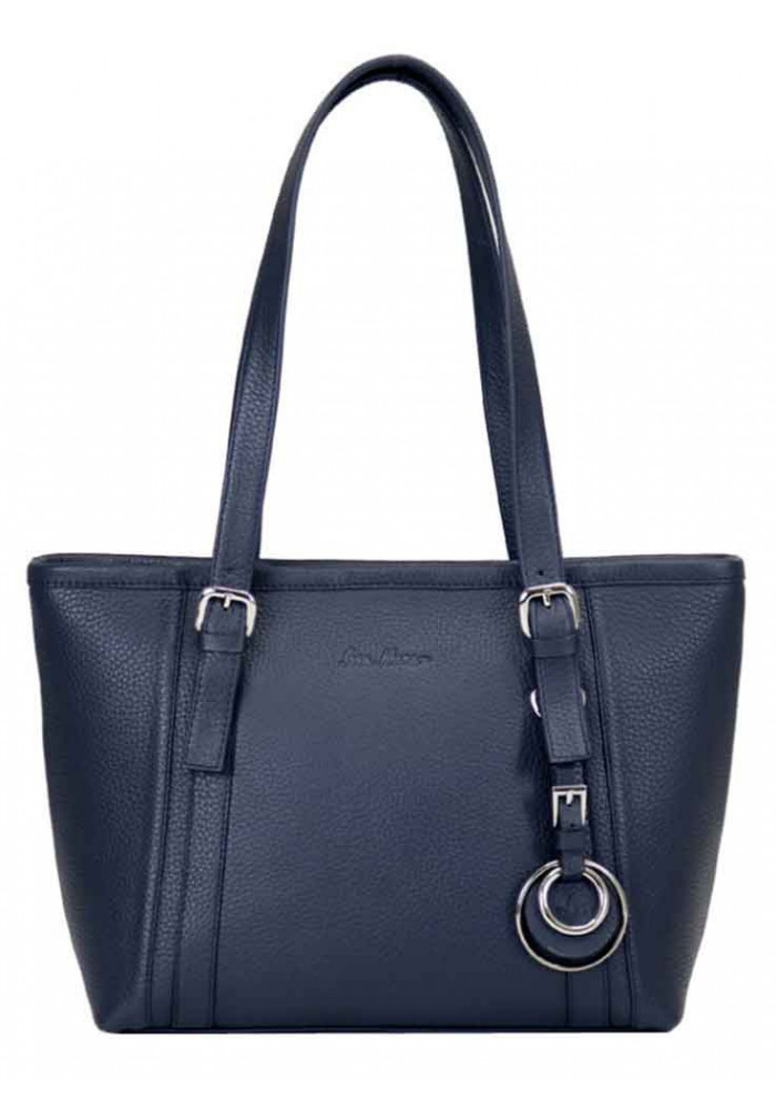 Фото Женская кожаная сумка Issa Hara Ирена Blue