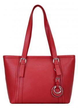 Фото Женская кожаная сумка Issa Hara Ирена Red