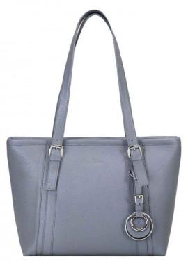 Фото Женская кожаная сумка Issa Hara Ирена Grey