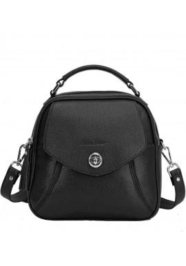 Фото Женская сумка из кожи Issa Hara Рената Black