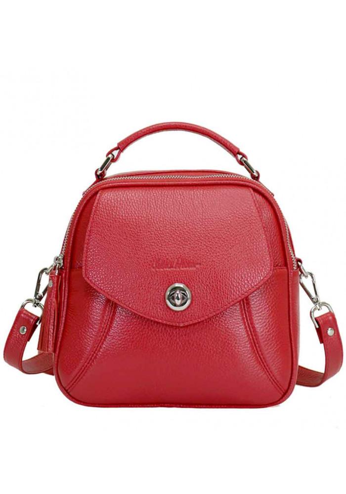 Фото Женская сумка из кожи Issa Hara Рената Red
