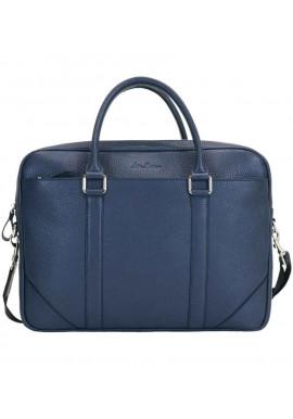 Фото Кожаная мужская сумка Issa Hara B14 Blue
