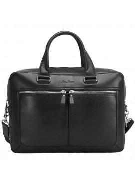 Фото Мужская кожаная сумка Issa Hara B23 Black GL