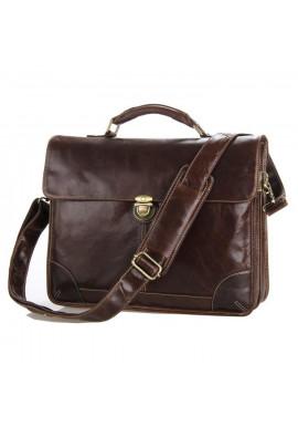 Фото Кожаный портфель TIDING BAG 7091C