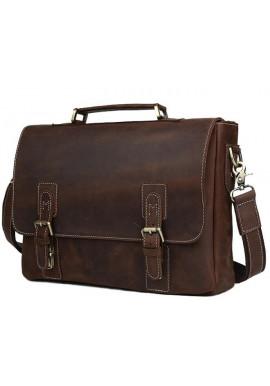 Фото Мужской кожаный портфель TIDING BAG T8069DB