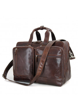 Фото Кожаная сумка Tiding Bag 7343C