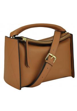 Фото Женская кожаная сумка UnaBorsetta W11-6263LB