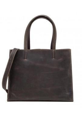 Фото Женская кожаная сумка TIDING BAG GW9960-1DB