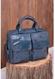 Изумрудная лаковая кожаная женская сумка Lev Lubinin 91365 - интернет магазин stunner.com.ua