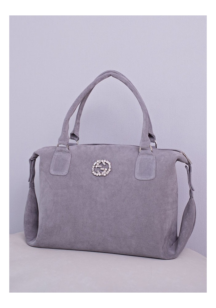 Замшевая женская сумка Lev Lubinin 91416