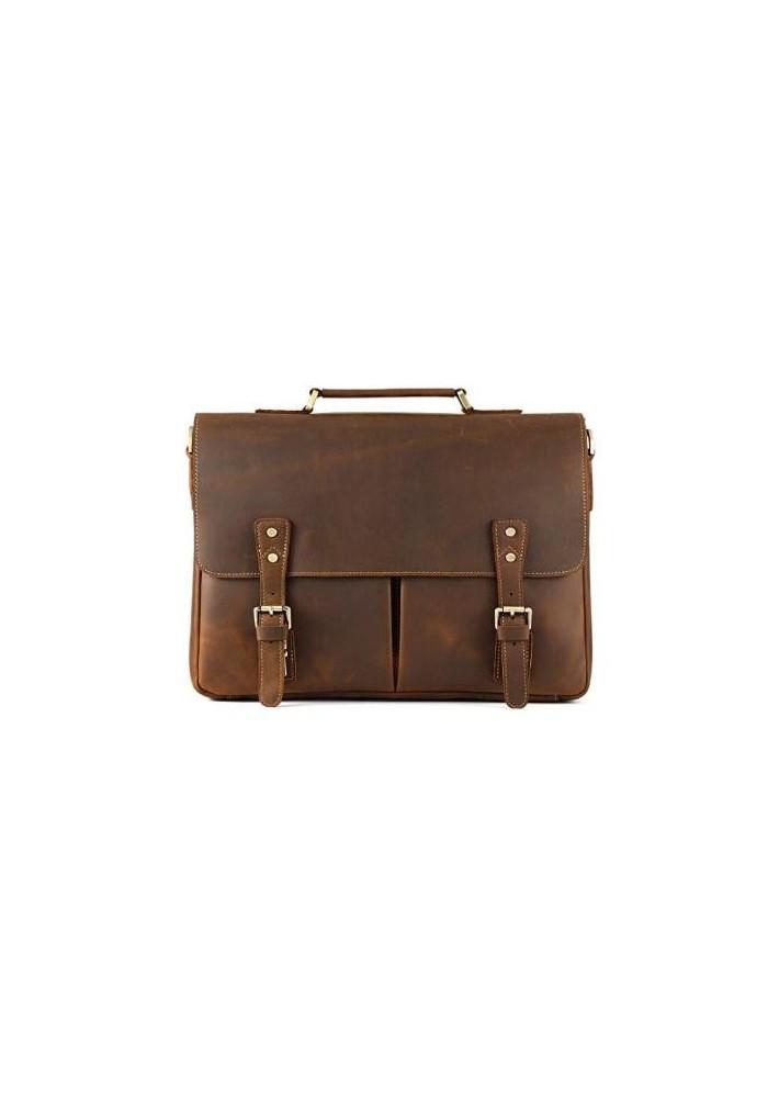 Фото Кожаный мужской портфель TIDING BAG T0016