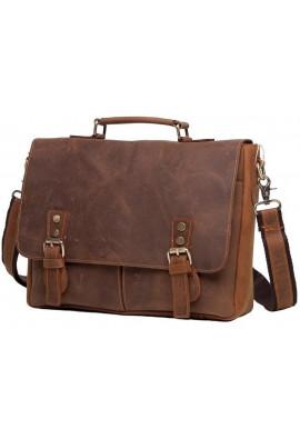 Фото Мужской кожаный портфель TIDING BAG t0003