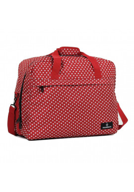 Фото Сумка дорожная Members Essential On-Board Travel Bag 40 Red Polka