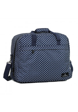 Фото Сумка дорожная Members Essential On-Board Travel Bag 40 Navy Polka