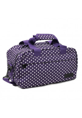 Фото Сумка дорожная Members Essential On-Board Travel Bag 12.5 Purple Polka
