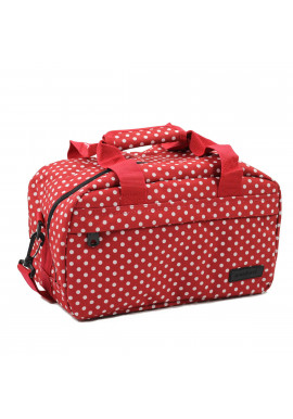 Фото Сумка дорожная Members Essential On-Board Travel Bag 12.5 Red Polka