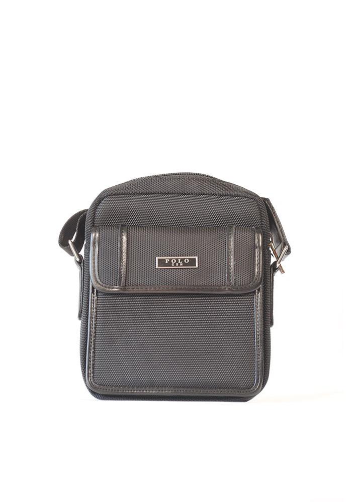 Маленькая мужская сумка через плечо POLO с карманом 661-1