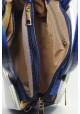 Маленькая бело-синяя женская сумка Betty Pretty, фото №6 - интернет магазин stunner.com.ua