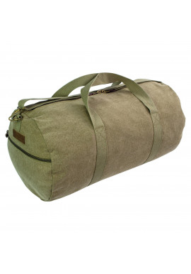 Фото Сумка дорожная Highlander Crieff Canvas Roll Bag 45 Olive