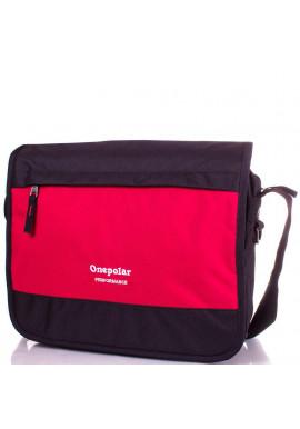 Фото Мужская тканевая сумка ONEPOLAR W5004-red