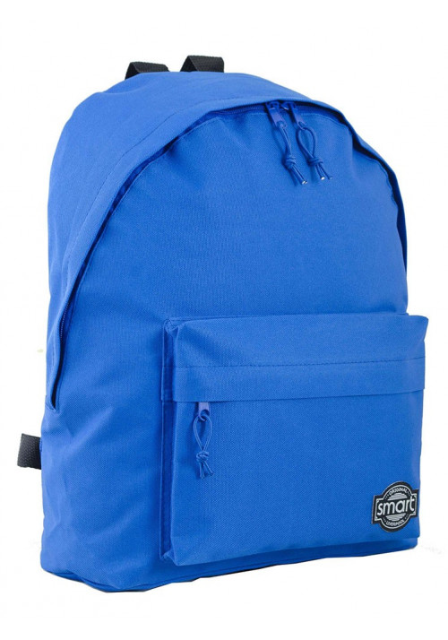 Городской рюкзак яркого синего цвета