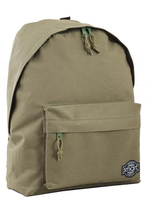 Городской рюкзак серии Smart цвета хаки
