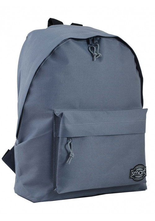 Городской серый рюкзак Smart