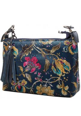 Фото Женская кожаная сумка-клатч DESISAN SHI575-415