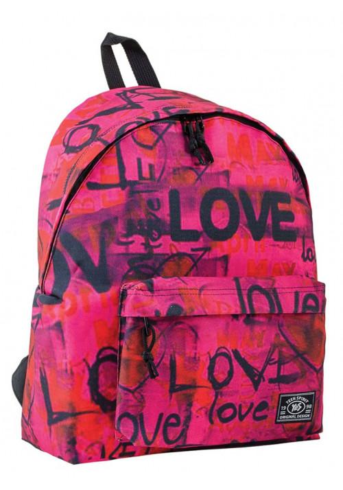 Рюкзак молодежный с буквенным принтом