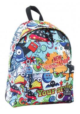 Фото Фото 1 - Купить молодежный рюкзак ST-15 Crazy 18
