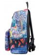 Фото 2 - Стильный городской рюкзак ST-15 Crazy-22
