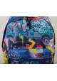 Фото 6 - Стильный городской рюкзак ST-15 Crazy-22